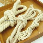 10 Yard Cotton Rope DIY Curtain Tie Back Twisted Twine Cord 3/8/15mm New Craft