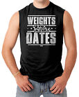 Weights Before Dates - Gym Workout Men's SLEEVELESS T-shirt
