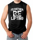 Id Rather Be Lifting - Gym Workout Men's SLEEVELESS T-shirt