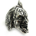 New Rock Band The Demon Gene Simmons Silver Stainless Steel Men's Ring Gift