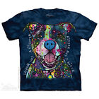 Russo Kisser T-Shirt by The Mountain. Big Face Dog Pets Sizes S-5XL NEW