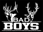 Bad Boys Hunting Deer Buck Whitetail Car Boat Truck Window Vinyl Decal Sticker