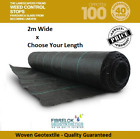 Weed Control Fabric 40 Year Life  Choose Your Length - 2 Meter Wide