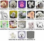 Bichon Frise Dog Designs Lampshades Ideal To Match Bichon Frise Cushions & Beds.