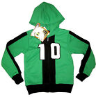 BEN 10 OMNIVERSE green hooded sweatshirt jacket Size 6,8,10,12 Age 3-8y FreeShip