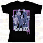 THE WANTED US 2013 Tour Black T-Shirt