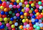 Sea Fishing Beads 6 mm and 8 mm Rig Lure Making Coloured Mixed x200