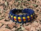 Gloucester Regiment 550 Paracord Survival Bracelet / Dog Collar Military