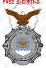 FREE SHIPPING USAF Air Force Security Police STICKER MAGNET or BANNER