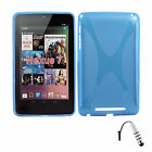 X Design TPU Case for Google Nexus 7 Android Tablet by Asus + Stylus S