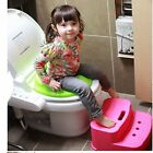 Toilet mounting block 2 step child kid bathroom food rest Non Slip Rounded now