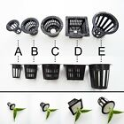 Внешний вид - 10pcs Mesh Pot Net Cup Basket Hydroponic Aeroponic Plant Grow Clone Kit Hanging