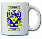 SHARROCKS COAT OF ARMS COFFEE MUG