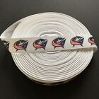 "7/8"" Columbus Blue Jackets Grosgrain Ribbon by the Yard (USA SELLER!) $9.55 USD on eBay"