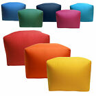 Water/stain Resistant Large Footstool Cube Pouffe.outdoor Garden Patio Use