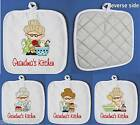 GRANDMA'S  KITCHEN OVEN CLOTH PERSONALISED FREE OF CHARGE
