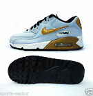 Nike Air Max 90 Premium QS Junior Trainers Shoes Lace Up