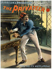 4887.The privateer.man with knife thieving.POSTER.Decoration.Graphic Art
