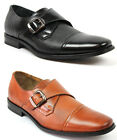 New Mens Ferro Aldo Dress Shoes Cap Toe Buckle Oxfords Leather Lining Modern