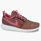 Nike Wmns Rosherun Flyknit Pink Pow Total Orange 704927 004 Running Shoes