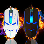 USB 3D Button 2000DPI Optical Adjustable Wired Gaming Game Mice Mouse Tide