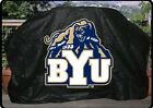 "BRIGHAM YOUNG UNIVERSITY Grill Cover 68"" Heavy Duty vinyl / Flannel Lined"