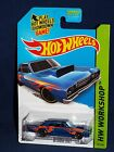 Hot Wheels 2014 Workshop Heat Fleet  #211 '68 Dodge Dart  Dark Blue w/ PR5s $2.0 USD