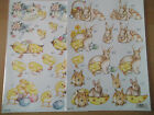 A4 Die Cut Cardmaking Decoupage Sheet Easter Bunny Chick Animals Various Designs