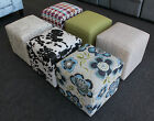 OMG Monthly - Brand New AUS-MADE Cube Square Ottoman Lounge Couch Sofa