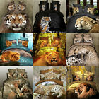 3D Effect Animal Printed Bedsheet Bedding Home Textile Quilt Covers Pillow Set