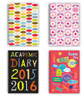 2016 Academic Diary - Wiro Cover - July 2015 - July 2016 *IN STOCK NOW*