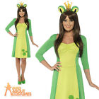 Adult Princess Frog Costume Funny Ladies Sexy Fancy Dress Outfit Toad Animal