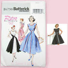 Butterick 4790 Sewing Pattern Misses' Walkaway Dress Vintage 1950's Sewing Bee