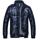 POP Charm Men's Winter Warm Overcoat Padded Jacket Large Sizes 3 Colors UK FO