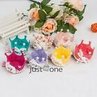 New Girls Lace Bow Crown Imitation Pearls Sweet Hairclip Hair Decor Accessory