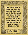 A4 Parchment Poster Bible Quote Quotation Ten Designs and  Greetings Card Option