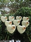 Graveside Memorial Remembrance Grave Gift-Heart and Butterfly Spike