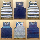 NWT Hollister HCO Men's Tank Top T-shirt Muscle Fit Graphic Stripes Abercrombie