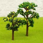 10 X Model Fruit Tree Train Railway Layout Scenery Mock-up Landscape Garden 5cm