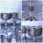 Oscar Caplan Sterling Silver Wine Goblets Specially Designed Rare