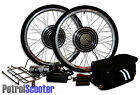 "48V 500W 1000W Electric Bicycle Cycle Bike 26"" Conversion Kit Hub Motor Gearless"