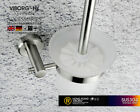 VIBORG 304 Stainless Steel Wall Mounted Toilet Brush With Tempered Glass Holder