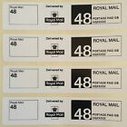 Roll Printed Royal Mail Second Class 48 PPI Postage Labels - 90mm x 20mm