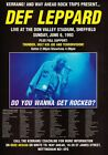 DEF LEPPARD Sheffield Don Valley Stadium 1993 PHOTO Print POSTER Adrenalize 9