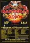 IRON MAIDEN Monsters Of Rock 1992 PHOTO Print POSTER Skid Row Slayer W.A.S.P. 09