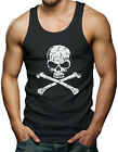 Skull & Crossbones Men's Tank Top T-shirt