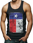 Big Texas Flag - Distressed State Pride Men's Tank Top T-shirt