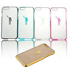 Luxury Human Clear Hard Skin Case Cover For iPhone 6 Plus 5.5 Inch Tide New