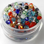 New Fashion DIY jewelry 3/4mm100/1000pcs Mixed Glass Crystal #5301 Bicone Beads