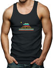 Rainbow California Republic - Gay LGBT Pride Bear Men's Tank Top T-shirt